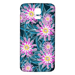 Whimsical Garden Samsung Galaxy S5 Back Case (White)