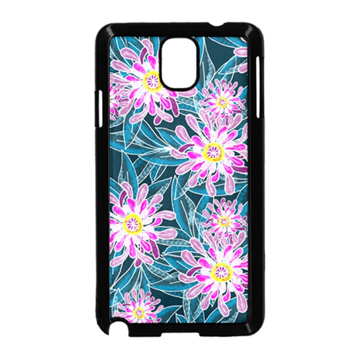 Whimsical Garden Samsung Galaxy Note 3 Neo Hardshell Case (Black)