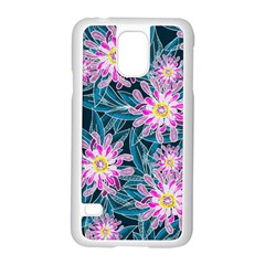 Whimsical Garden Samsung Galaxy S5 Case (White)