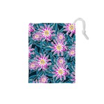 Whimsical Garden Drawstring Pouches (Small)  Front