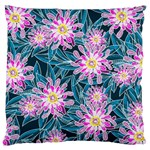 Whimsical Garden Large Flano Cushion Case (One Side) Front