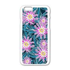Whimsical Garden Apple Iphone 6/6s White Enamel Case