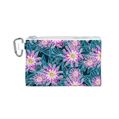 Whimsical Garden Canvas Cosmetic Bag (s)
