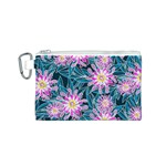 Whimsical Garden Canvas Cosmetic Bag (S) Front