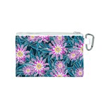 Whimsical Garden Canvas Cosmetic Bag (S) Back
