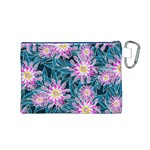 Whimsical Garden Canvas Cosmetic Bag (M) Back