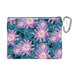 Whimsical Garden Canvas Cosmetic Bag (XL) Back