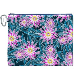 Whimsical Garden Canvas Cosmetic Bag (xxxl)