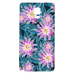 Whimsical Garden Galaxy Note 4 Back Case Front
