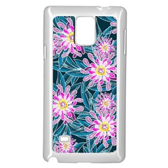 Whimsical Garden Samsung Galaxy Note 4 Case (White)