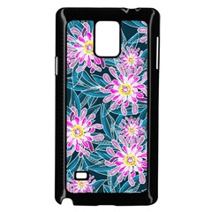 Whimsical Garden Samsung Galaxy Note 4 Case (Black)