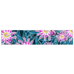 Whimsical Garden Flano Scarf (small)
