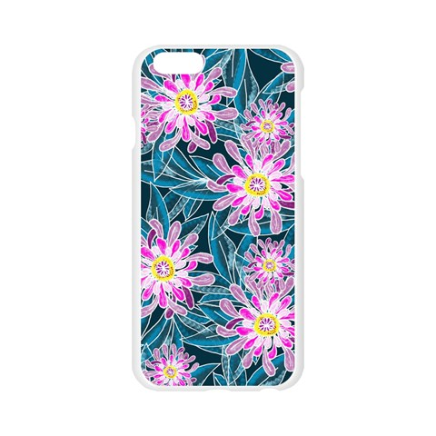 Whimsical Garden Apple Seamless iPhone 6/6S Case (Transparent)