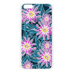 Whimsical Garden Apple Seamless iPhone 6 Plus/6S Plus Case (Transparent)