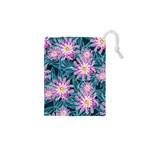 Whimsical Garden Drawstring Pouches (XS)  Front