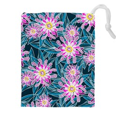Whimsical Garden Drawstring Pouches (XXL)
