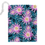 Whimsical Garden Drawstring Pouches (XXL) Back