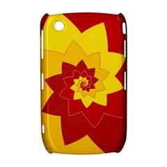 Flower Blossom Spiral Design  Red Yellow Curve 8520 9300