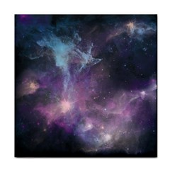 Blue Galaxy  Tile Coasters