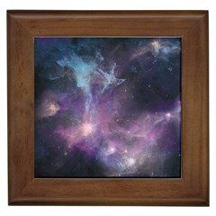 Blue Galaxy  Framed Tiles