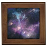 Blue Galaxy  Framed Tiles Front