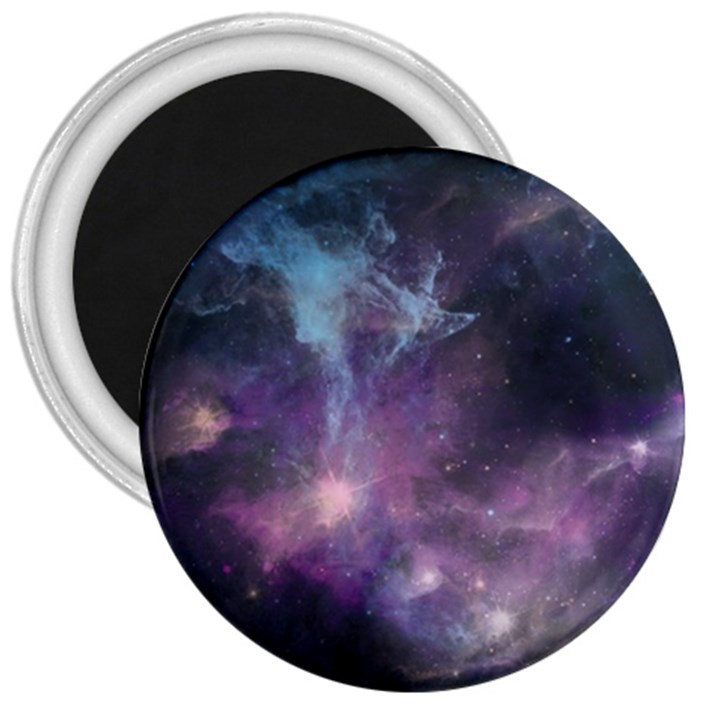 Blue Galaxy  3  Magnets