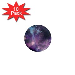 Blue Galaxy  1  Mini Magnet (10 pack)