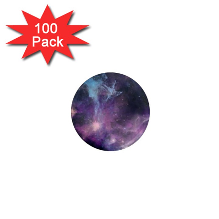 Blue Galaxy  1  Mini Magnets (100 pack)