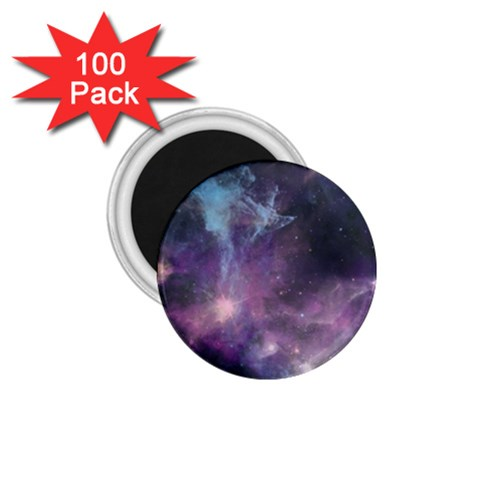 Blue Galaxy  1.75  Magnets (100 pack)