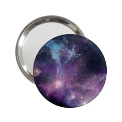 Blue Galaxy  2.25  Handbag Mirrors