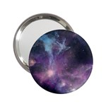 Blue Galaxy  2.25  Handbag Mirrors Front