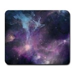 Blue Galaxy  Large Mousepads Front