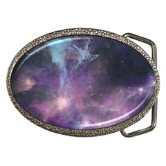 Blue Galaxy  Belt Buckles