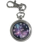 Blue Galaxy  Key Chain Watches Front