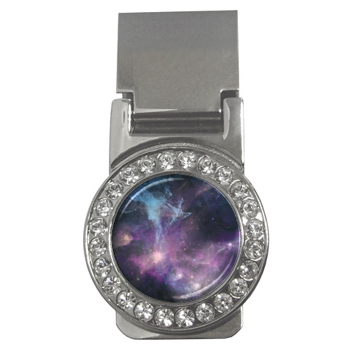 Blue Galaxy  Money Clips (CZ)