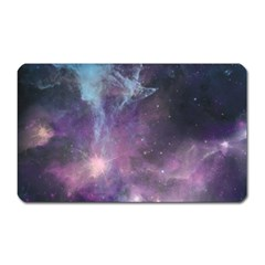 Blue Galaxy  Magnet (Rectangular)