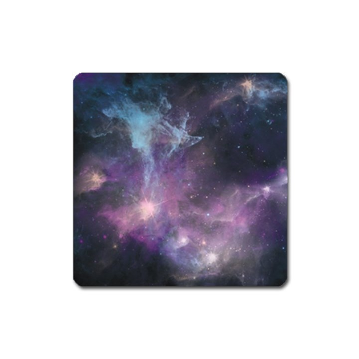 Blue Galaxy  Square Magnet