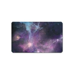 Blue Galaxy  Magnet (name Card)