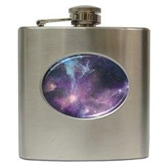 Blue Galaxy  Hip Flask (6 oz)