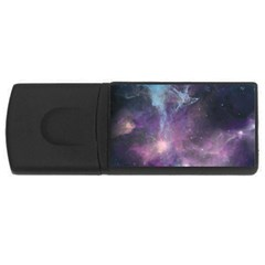 Blue Galaxy  USB Flash Drive Rectangular (1 GB)