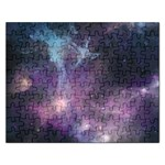 Blue Galaxy  Rectangular Jigsaw Puzzl Front
