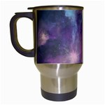 Blue Galaxy  Travel Mugs (White) Left