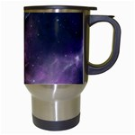 Blue Galaxy  Travel Mugs (White) Right
