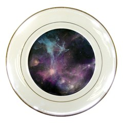 Blue Galaxy  Porcelain Plates