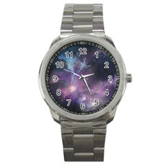 Blue Galaxy  Sport Metal Watch