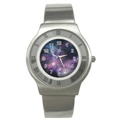 Blue Galaxy  Stainless Steel Watch