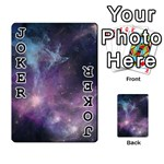 Blue Galaxy  Playing Cards 54 Designs  Front - Joker1