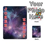 Blue Galaxy  Playing Cards 54 Designs  Front - Joker2