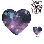 Blue Galaxy  Playing Cards 54 (Heart)  Front - SpadeQ
