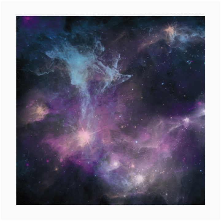 Blue Galaxy  Medium Glasses Cloth (2-Side)